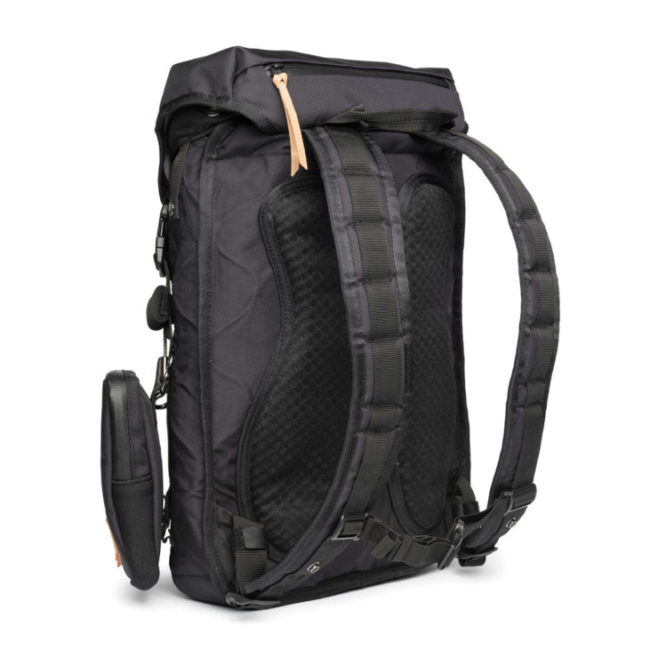Angry Lane Black Rider Daypack Rear