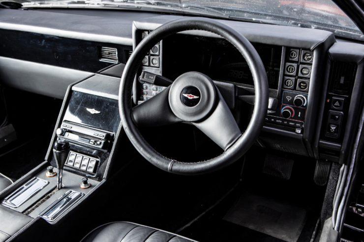 Aston Martin Lagonda Series 4 Interior