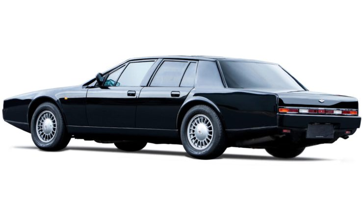 Aston Martin Lagonda Series 4 Rear