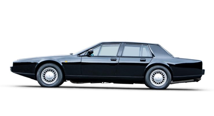 Aston Martin Lagonda Series 4 Side