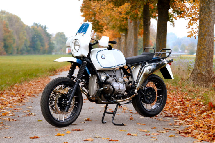 BMW R100GS Front 2
