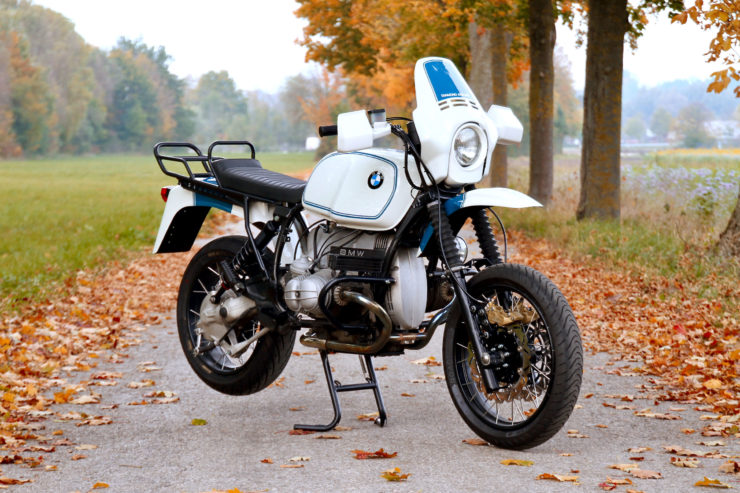 BMW R100GS Front