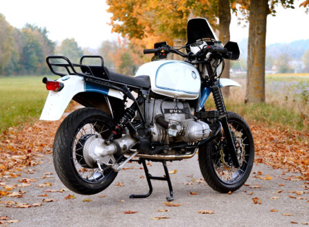 BMW R100GS Rear