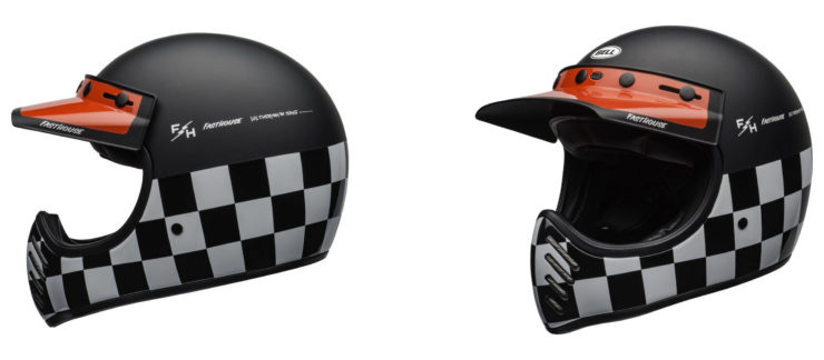Bell Moto-3 Fasthouse Checkers Helmet 1