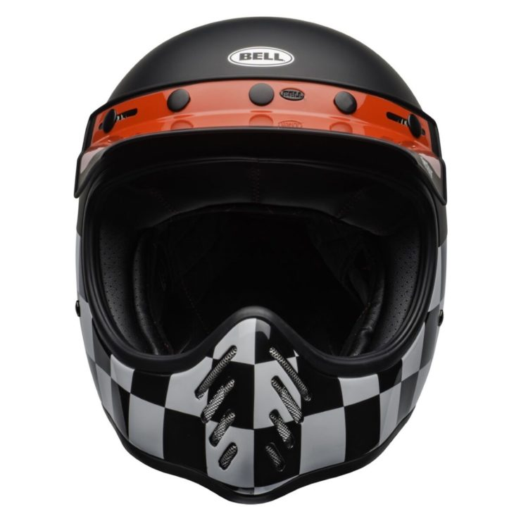 Bell Moto-3 Fasthouse Checkers Helmet Front