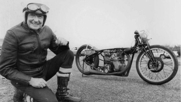 Burt Munro Indian Motorcycle