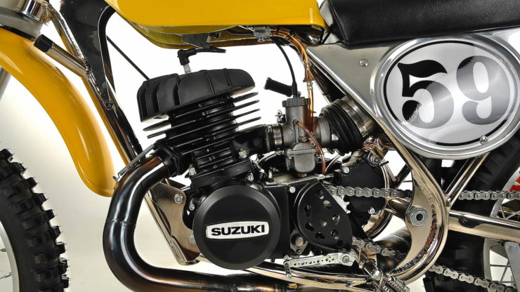 Cheney Suzuki TM400 MX Engine 2