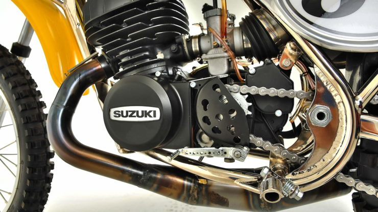 Cheney Suzuki TM400 MX Exhaust