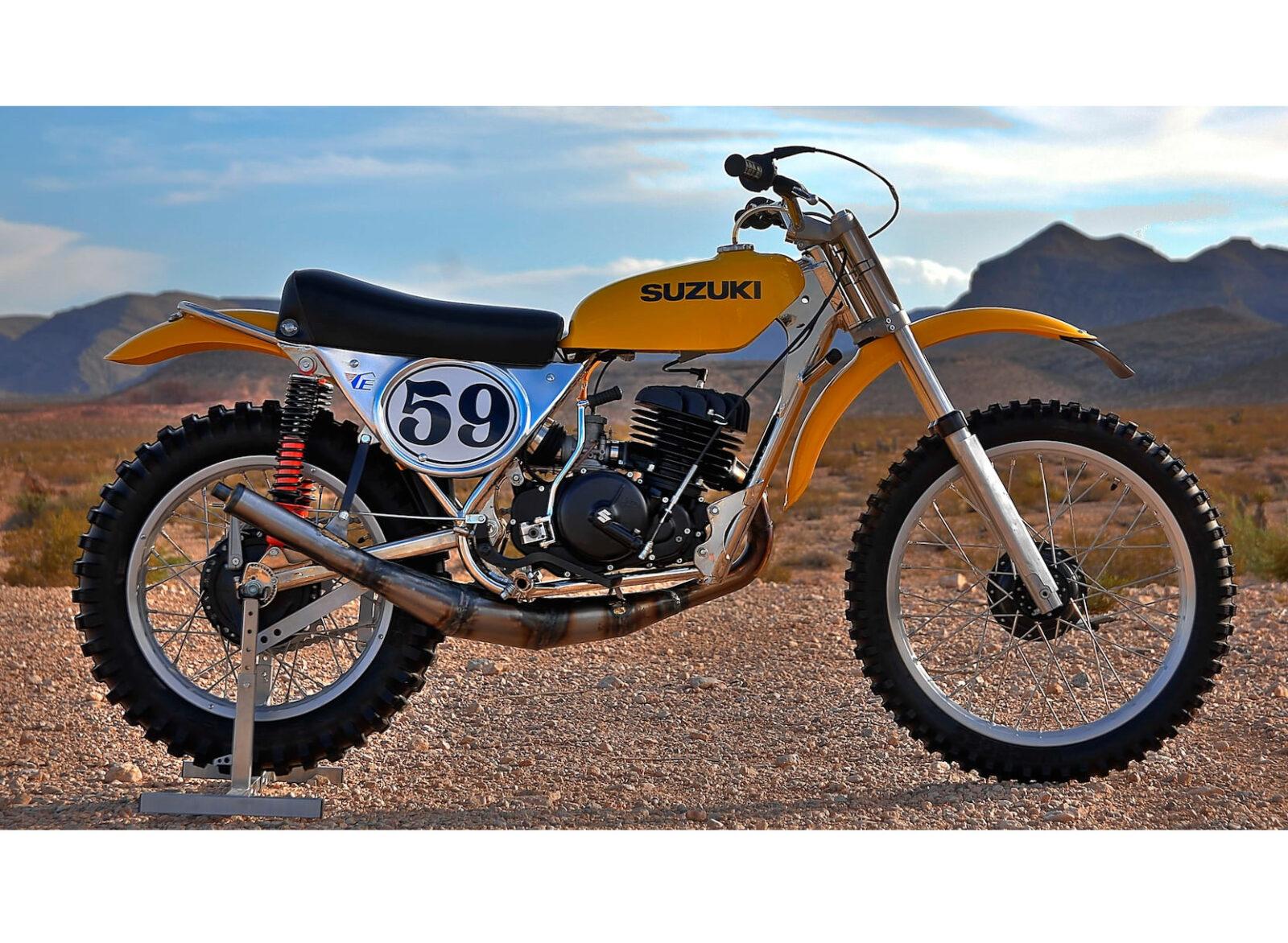 Cheney Suzuki TM400 MX Motocross