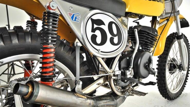 Cheney Suzuki TM400 MX Rear