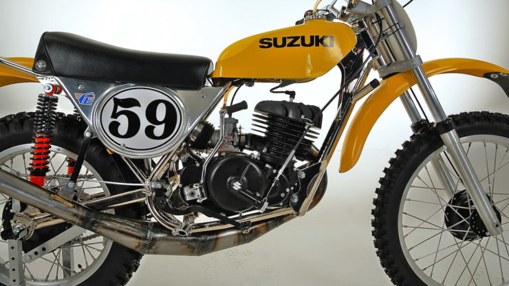 Cheney Suzuki TM400 MX Side