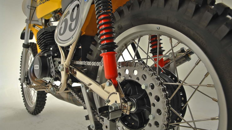 Cheney Suzuki TM400 MX Suspension