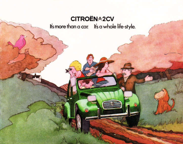 Citroën 2CV Cover