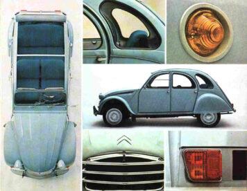 Citroën 2CV Views