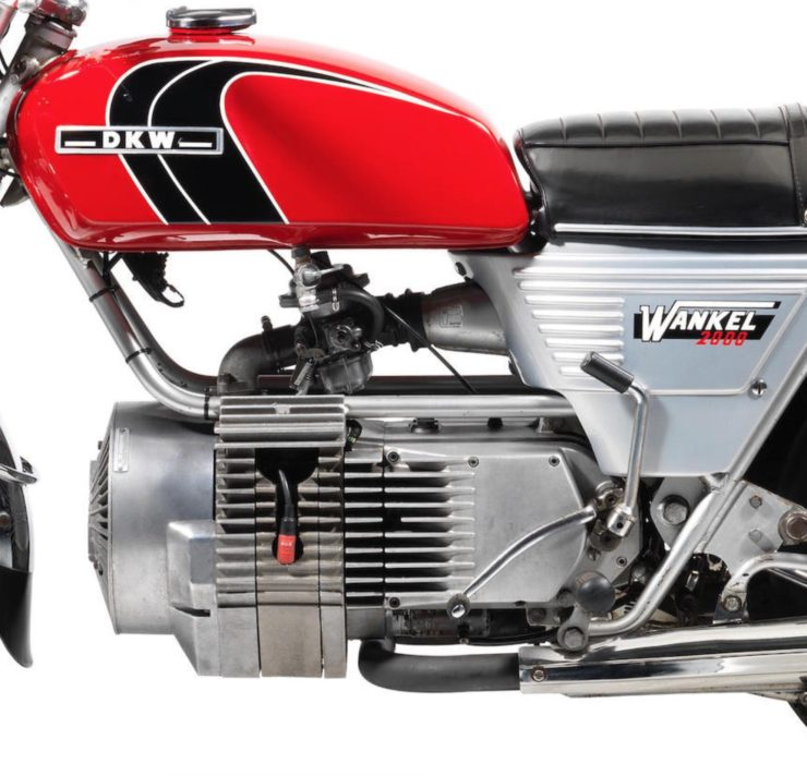 Hercules W2000 Rotary Motorcycle Engine