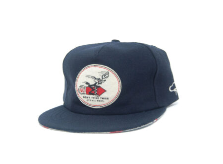 Don't Think Twice Wool Strapback Cap by The Ampal Creative