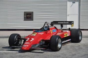 Ferrari 126 C2 Formula 1 Car