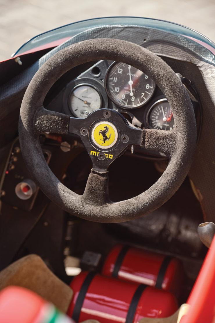 Ferrari 126 C2 Formula 1 Car Cockpit