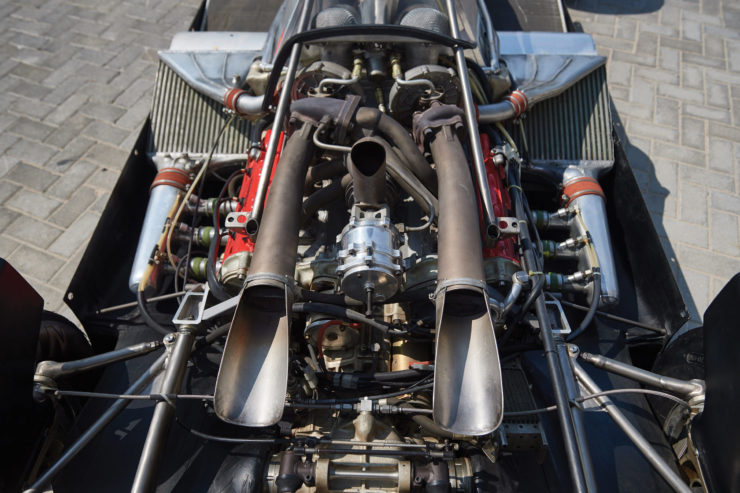 Ferrari 126 C2 Formula 1 Car Engine