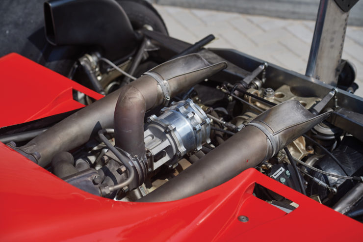 Ferrari 126 C2 Formula 1 Car Exhaust