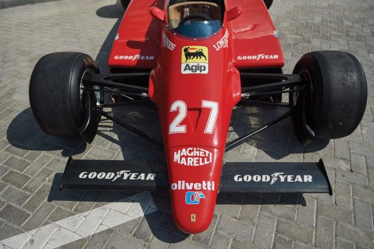 Ferrari 126 C2 Formula 1 Car Front Wing