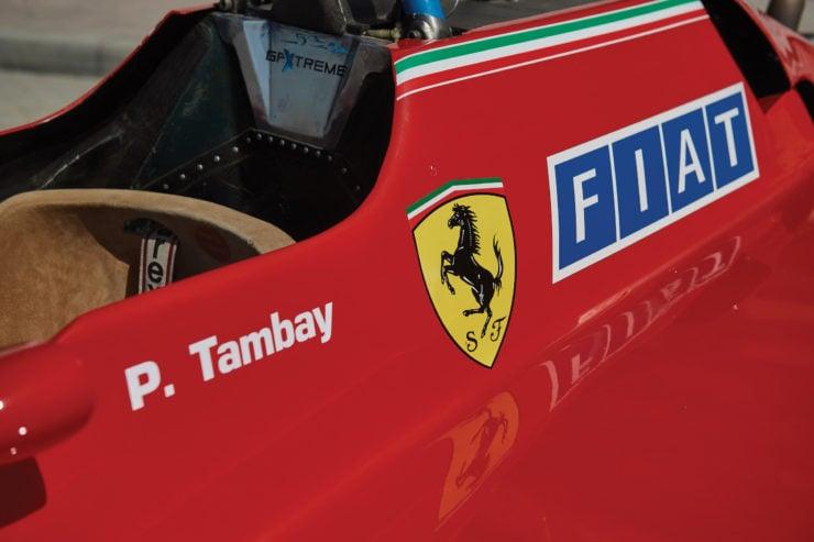Ferrari 126 C2 Formula 1 Car Logo
