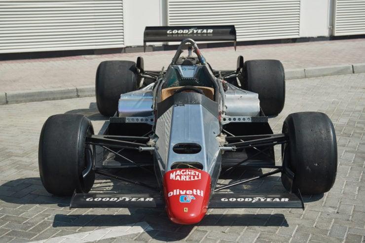 Ferrari 126 C2 Formula 1 Car Monocoque 2