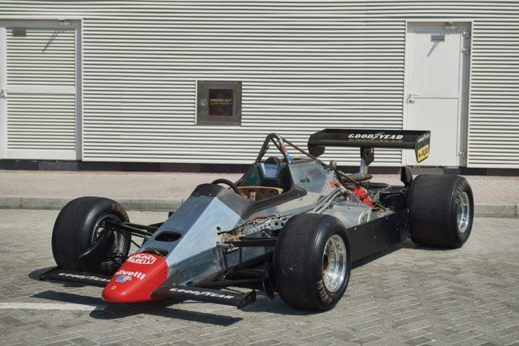 Ferrari 126 C2 Formula 1 Car Monocoque