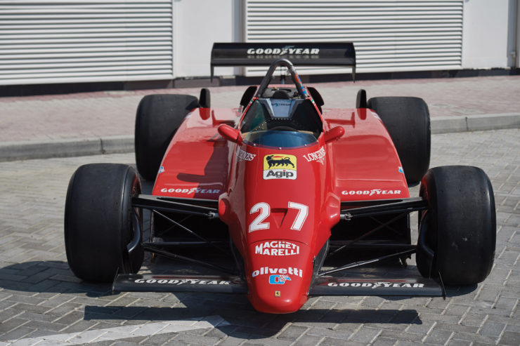 Ferrari 126 C2 Formula 1 Car Nose