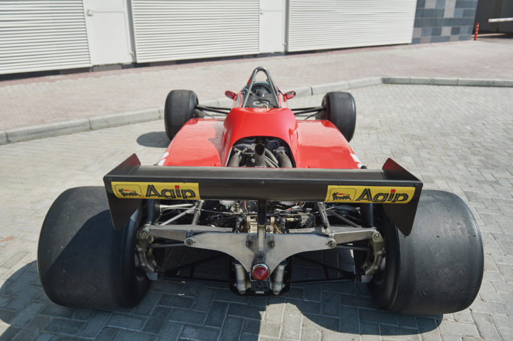 Ferrari 126 C2 Formula 1 Car Rear