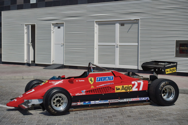 Ferrari 126 C2 Formula 1 Car Side