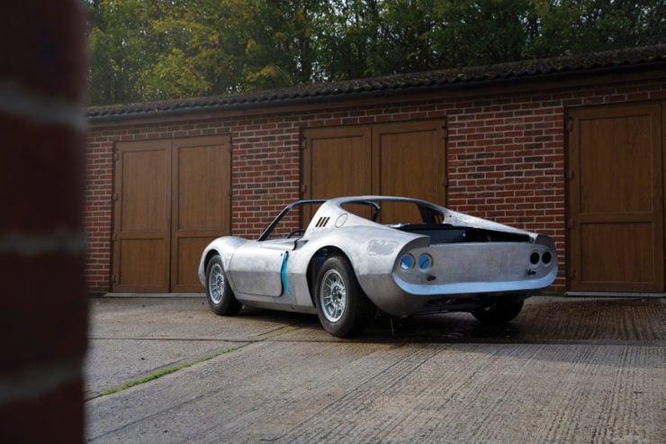 Ferrari Dino 246 GTS Back