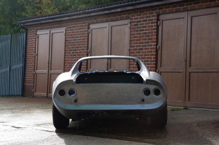 Ferrari Dino 246 GTS Rear