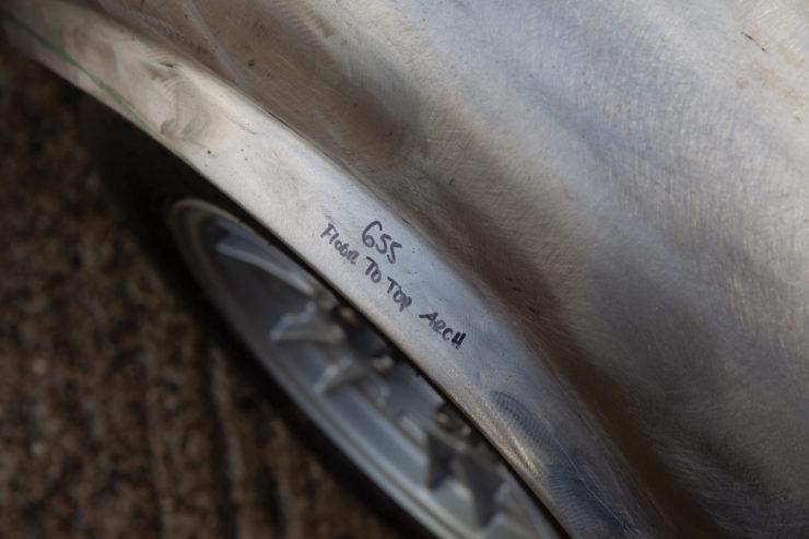 Ferrari Dino 246 GTS Wheel Arch Flare