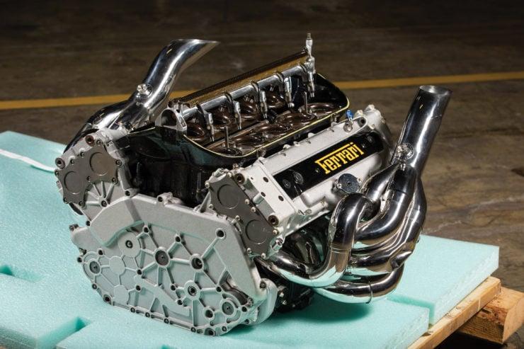 For Sale: A Ferrari Tipo 051 V10 Formula 1 Engine – 900 BHP