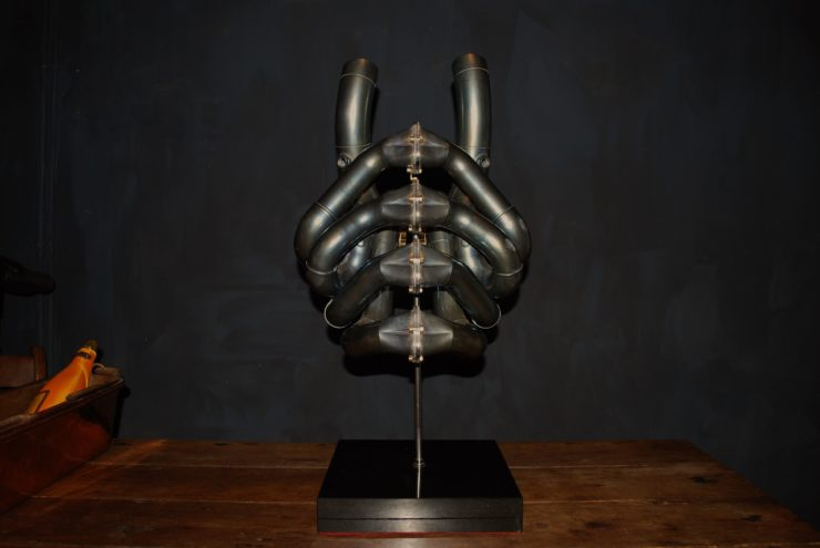 Formula 1 Exhaust Sculptures 11