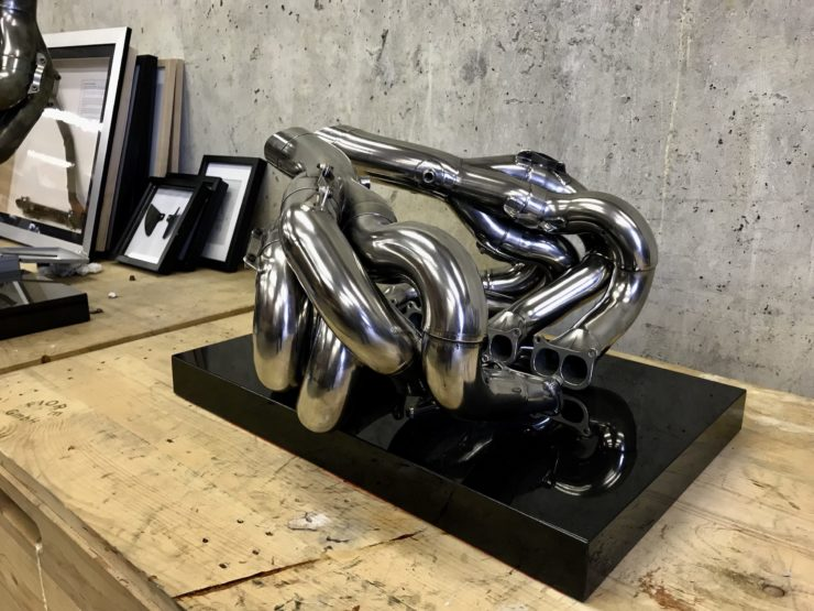 Formula 1 Exhaust Sculptures 3