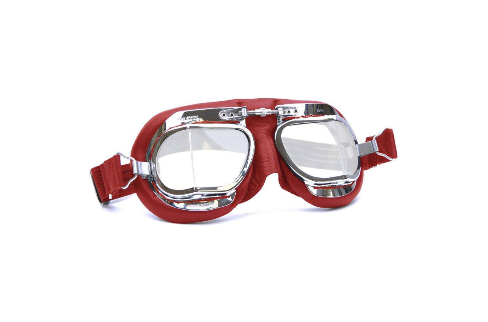 Halcyon Mark 49 Motorcycle Goggles Red
