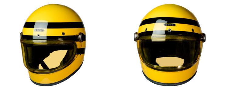 Heroine Racer Bumblebee Full Face Motorcycle Helmet