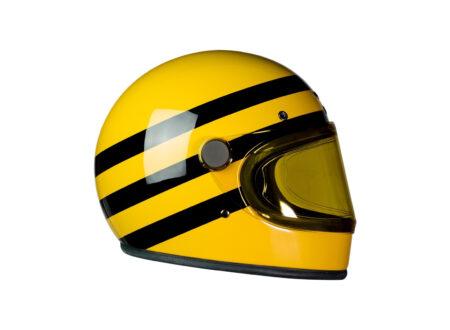 Heroine Racer Bumblebee Motorcycle Helmet