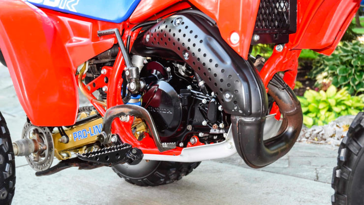 Honda ATC 250R Exhaust