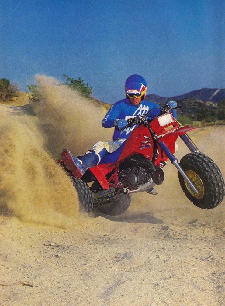Honda ATC 250R Racing