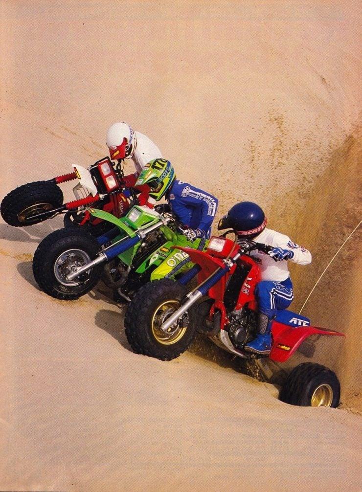 Honda ATC 250R Racing Dunes