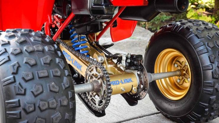 Honda ATC 250R Rear Axle