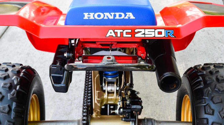 Honda ATC 250R Seat