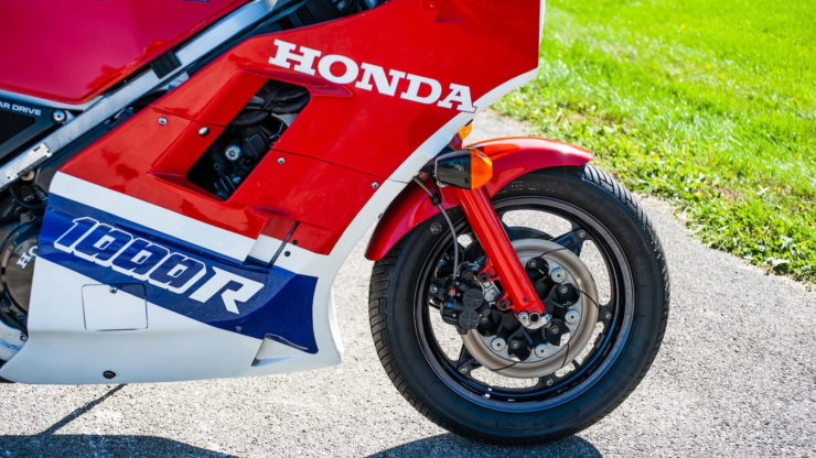 The Honda VF1000R – The Fastest Production Motorcycle In The World (In 1984)