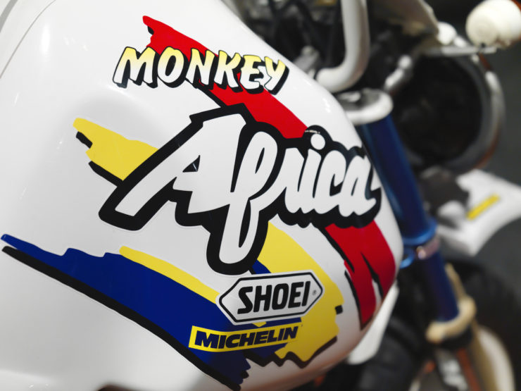 Honda Z50 Monkey Baja Africa Logo
