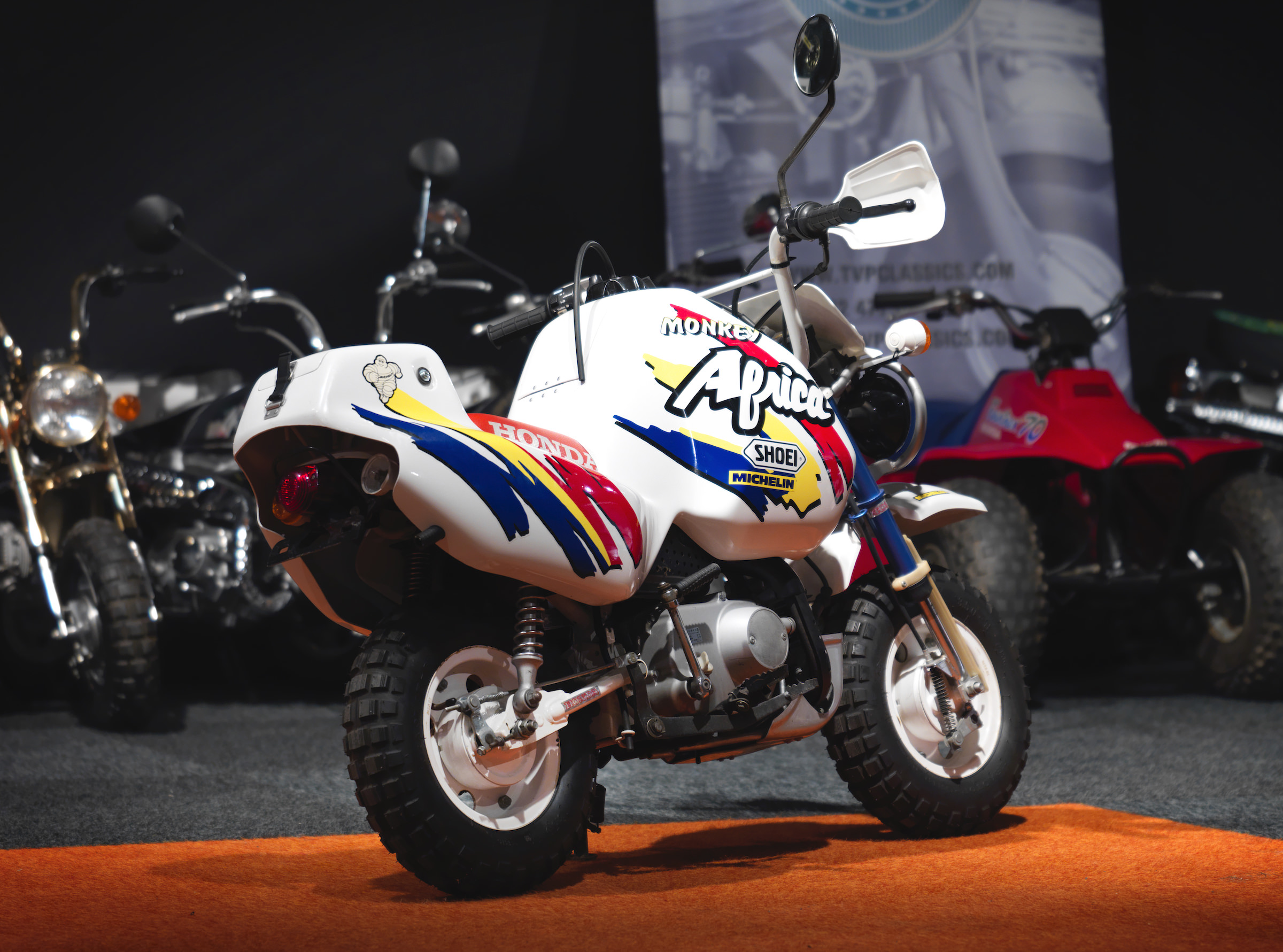 The Most Desirable Monkey Bike Of All Time The Rare Honda Baja Africa
