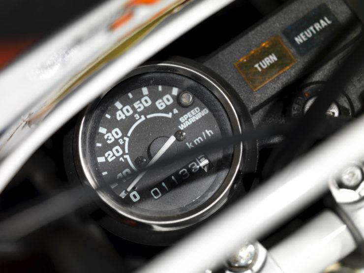 Honda Z50 Monkey Baja Africa Speedo