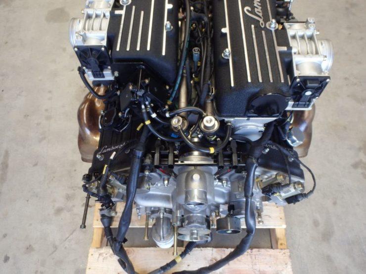 Lamborghini Murcielago 6.2 Litre V12 Engine Back